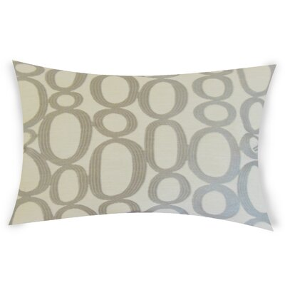 Oakman Cotton Lumbar Pillow Color: Gray