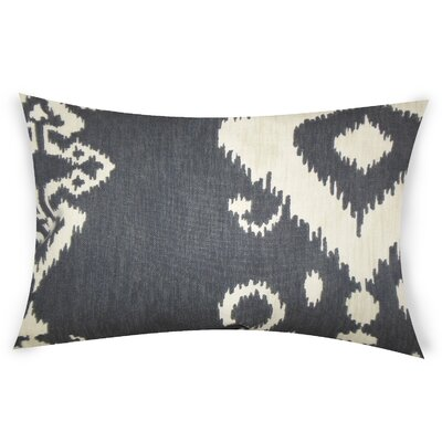 Edmundson Cotton Lumbar Pillow Color: Black