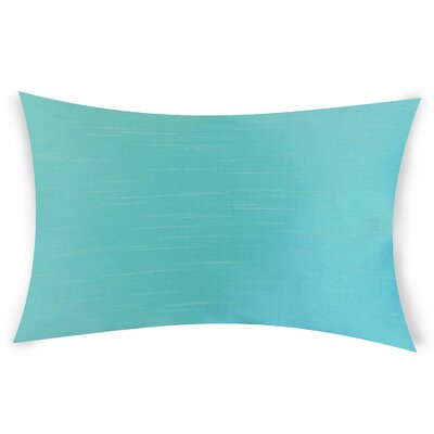 Hawtree Lumbar Pillow Color: Turquoise