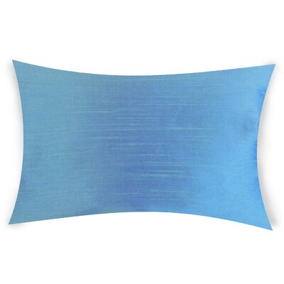 Hawtree Lumbar Pillow Color: Blue