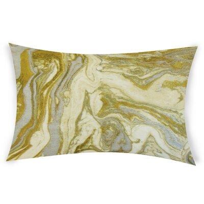Harness Cotton Lumbar Pillow Color: Brown
