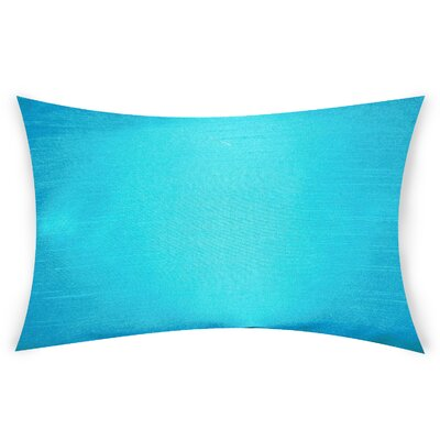 Hawtree Lumbar Pillow Color: Sky Blue