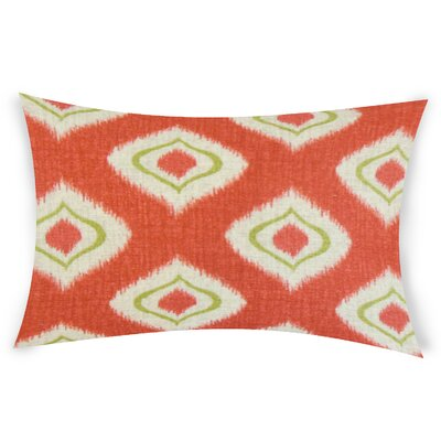 Goldener Cotton Lumbar Pillow Color: Orange