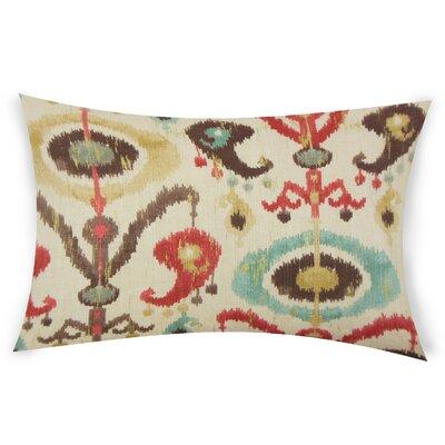 Obanion Cotton Lumbar Pillow Color: Brown
