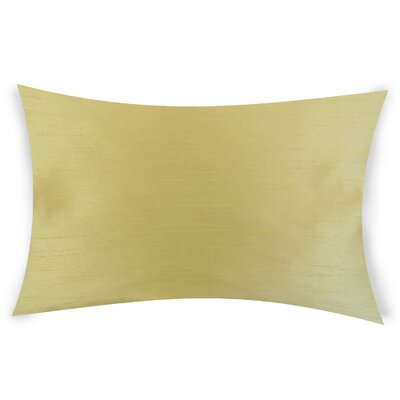 Hawtree Lumbar Pillow Color: Golden