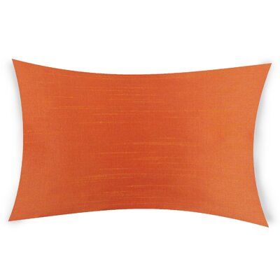 Hawtree Lumbar Pillow Color: Orange