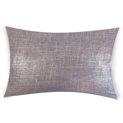 Mcconnell Lumbar Pillow Color: Purple