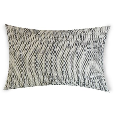 Hazelip Lumbar Pillow Color: White