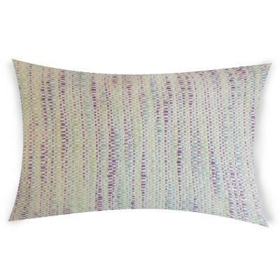 Hazelip Lumbar Pillow Color: Purple