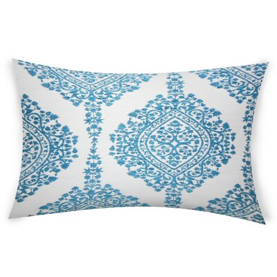 Erdenheim Cotton Lumbar Pillow Color: Turquoise