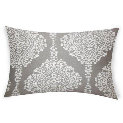 Erdenheim Cotton Lumbar Pillow Color: Gray