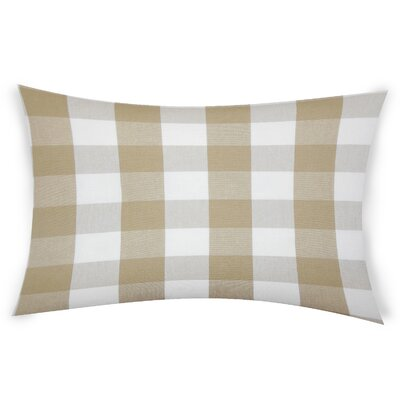 Feeney Cotton Lumbar Pillow Color: Beige