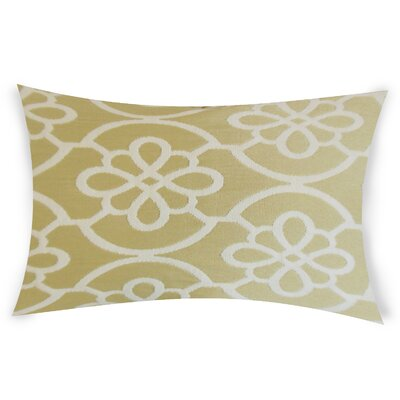 Escamilla Cotton Throw Pillow Color: Beige
