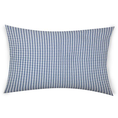 Escoto Cotton Throw Pillow Color: Blue