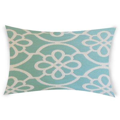 Escamilla Cotton Throw Pillow Color: Sky Blue