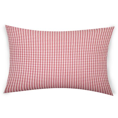 Escoto Cotton Throw Pillow Color: Red