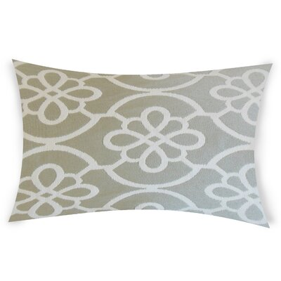 Escamilla Cotton Throw Pillow Color: White
