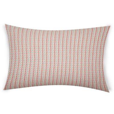 Escudero Cotton Lumbar Pillow Color: Orange