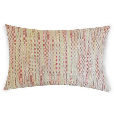 Hazelip Lumbar Pillow Color: Pink
