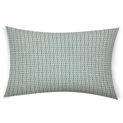 Escudero Cotton Lumbar Pillow Color: Green