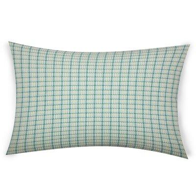Esmont Cotton Lumbar Pillow Color: Aegean