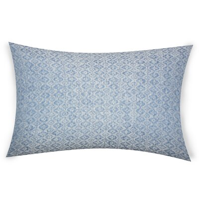 Edison Park Lumbar Pillow Color: Blue