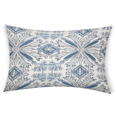 Glamis Throw Pillow Color: Blue