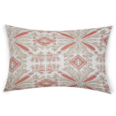 Glamis Throw Pillow Color: Orange