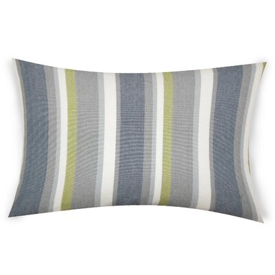 Hazlett Cotton Lumbar Pillow Color: Gray