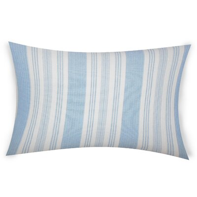 Ofarrell Cotton Lumbar Pillow Color: Light Blue