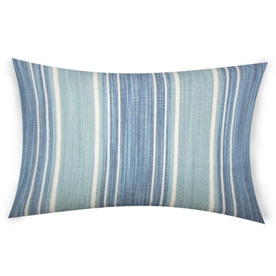 Haydel Cotton Lumbar Pillow Color: Turquoise