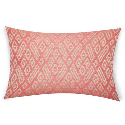 Oboyle Lumbar Pillow Color: Red