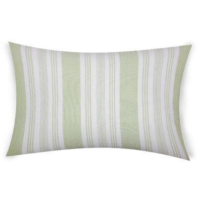 Ofarrell Cotton Lumbar Pillow Color: Green