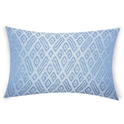 Oboyle Lumbar Pillow Color: Blue
