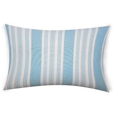 Ofarrell Cotton Lumbar Pillow Color: Turquoise