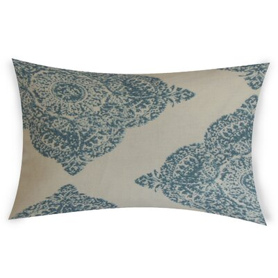 Erhart Cotton Lumbar Pillow Color: Turquoise