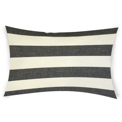 Ogawa Cotton Lumbar Pillow Color: Black