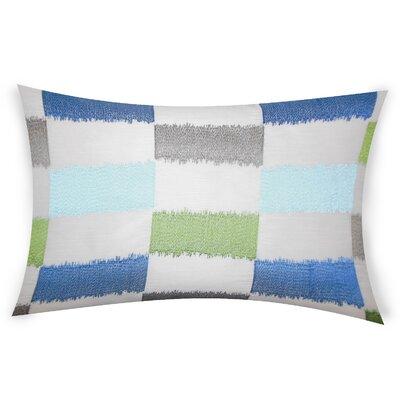 Ogburn Lumber Pillow Color: Blue