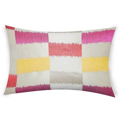 Ogburn Lumber Pillow Color: Pink