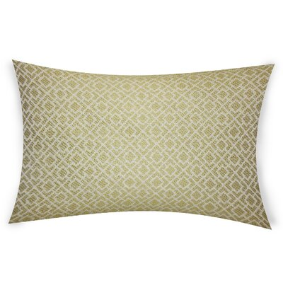 Esquibel Lumbar Pillow Color: Green