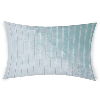 Goodge Lumbar Pillow Color: Blue