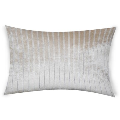 Goodge Lumbar Pillow Color: Beige