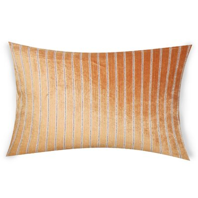 Goodge Lumbar Pillow Color: Orange