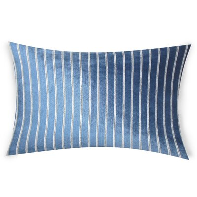 Goodge Lumbar Pillow Color: Navy