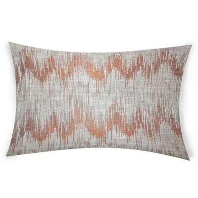 Obyrne Lumbar Pillow Color: Orange