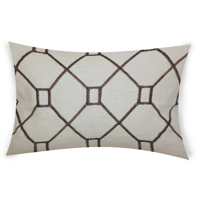 Comacho Cotton Lumbar Pillow Color: Brown