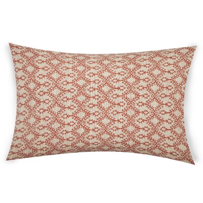 Edler Lumbar Pillow Color: Orange