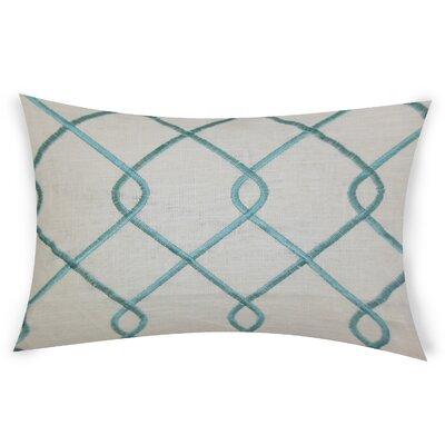 Espada Cotton Throw Pillow Color: Turquoise