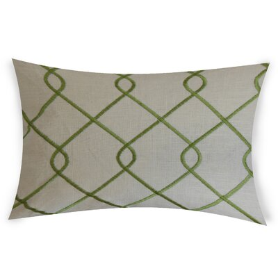 Espada Cotton Throw Pillow Color: Green
