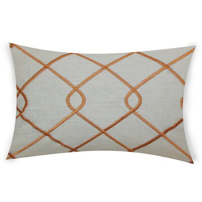 Espada Cotton Throw Pillow Color: Orange